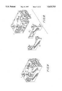 US 5633753 A – Low-cost, light-weight, compact binoculars