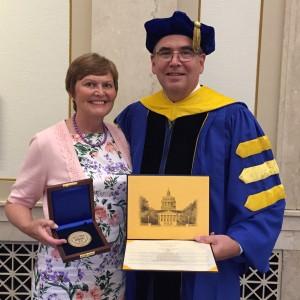 Optikos CEO, Stephen D. Fantone, Receives University of Rochester Distinguished Scholar Award