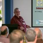 Ari T. Friberg presents at Optikos NES/OSA meeting, Oct. 2016