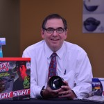 """Steve Fantone gives """"Adventures in Optics"""" talk at  The Optical Society of So, CA in 2014"""