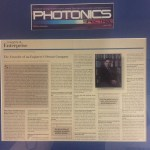 Dr. Milton M.T. Chang interviews Dr. Stephen D. Fantone for Photonics Spectra magazine, 1999