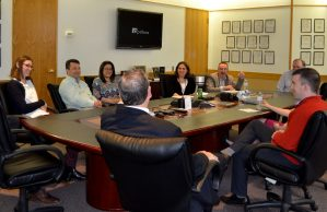 U of R Dean Wendi Heinzelman Discusses Engineering Program Growth with Grads at Optikos
