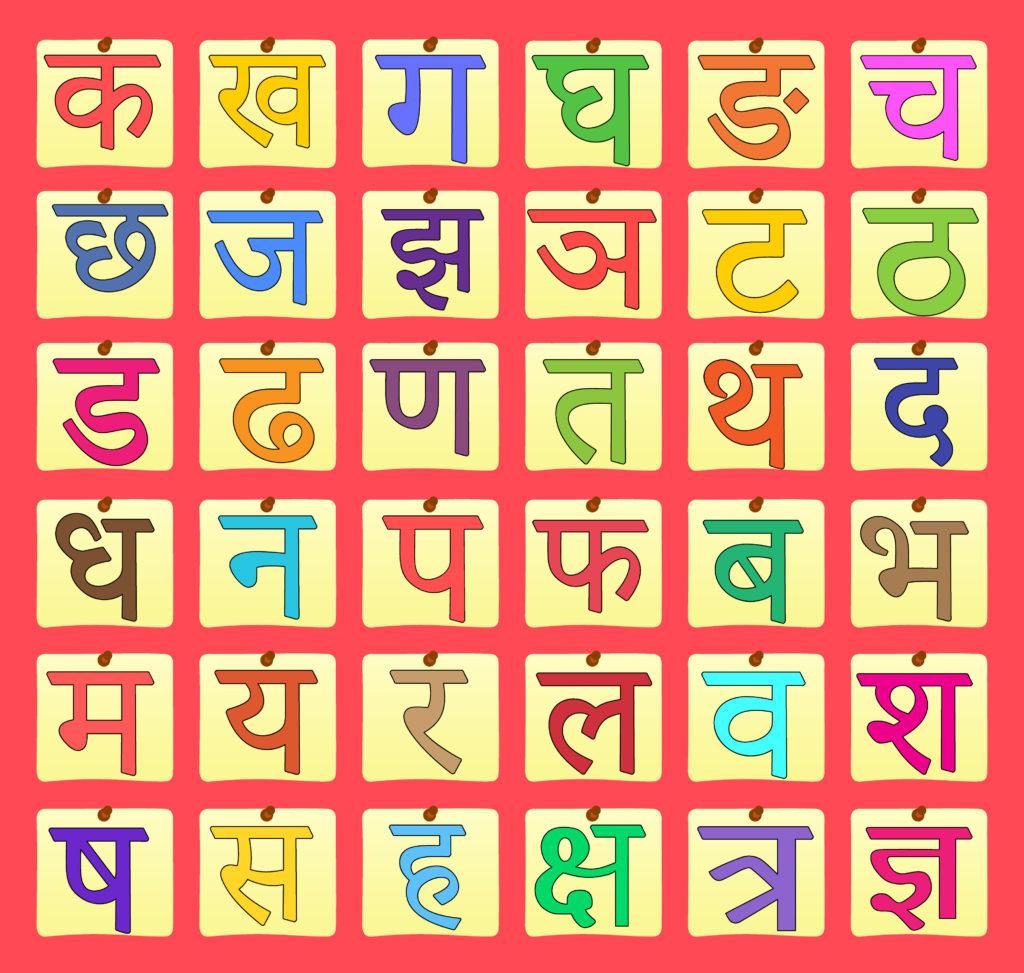 Easy Way To Learn Hindi Alphabet