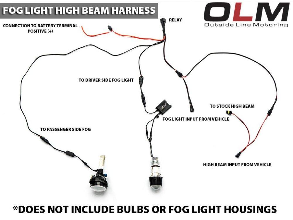 medium resolution of diy fog light wiring harness wiring diagram data today diy fog light wiring harness