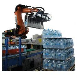 PET Bottle Robotic Palletizing