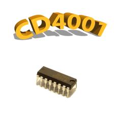 CD4001BP - NON-OU, 3 V à 15 V, DIP-14 , CD4001, 4001