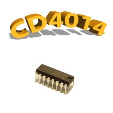 CD4014BP - Registre à décalage, 3 V à 15 V, DIP-16, CD4014, 4014
