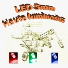 LEDs 5mm haute luminosité - Optoélectronique