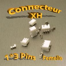 Connecteur XH 3 Pins Femelle