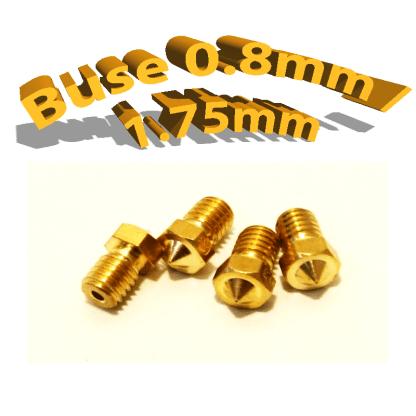Buse E3D 0.8mm 1.75mm