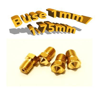 Buse E3D 1mm 1.75mm