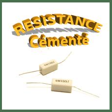 Résistance Cémenté / Céramique