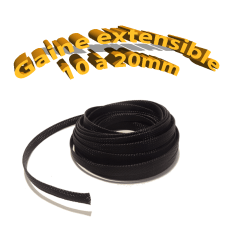 Gaine extensible 10mm - 16mm