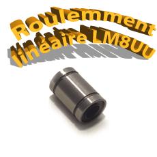 Palier linéaire lm8uu - Roulement imprimante 3D Reprap CNC