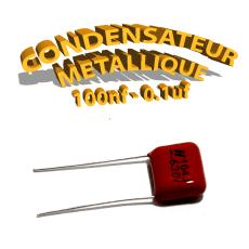 Condensateur à film 100nF 0.1uf 630V