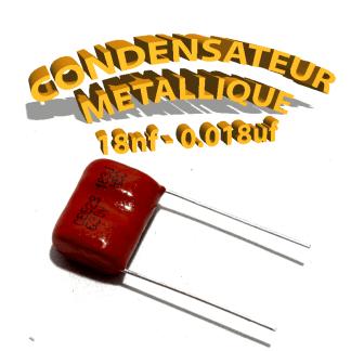 Condensateur à film 18nF 0.018uf 630V