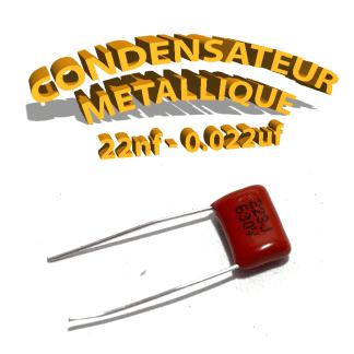 Condensateur à film 22nF 0.022uf 630V