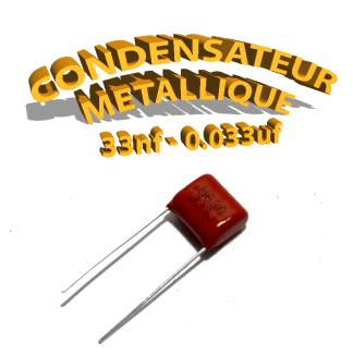 Condensateur à film 33nF 0.033uf 630V
