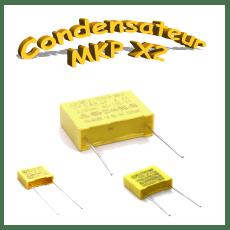 Condensateurs polypropylène MKP x2 anti-interférence