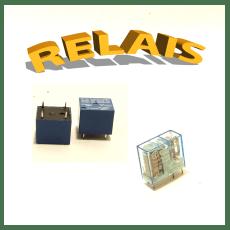 Relais électromécaniques, relais statiques, miniatures