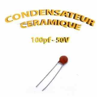 Condensateur Céramique 100pf - 100 - 50V