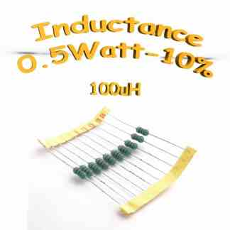 inductance 100uH - Inductor 100uH 0,5w 10%