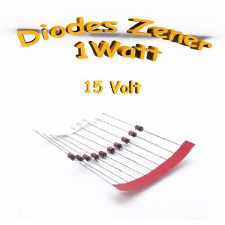 Diode Zener 15V - 1W - 1N4744A