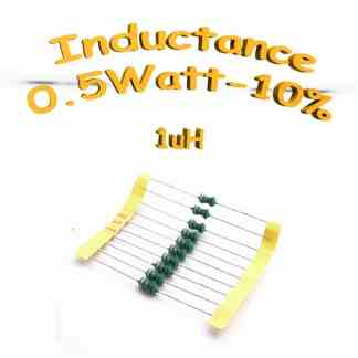 Inductance 1uH - Inductor 1uH 0,5w 10%