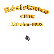 resistance cms 0805 220ohm