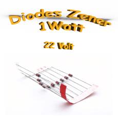 Diode Zener 22V - 1W - 1N4748A