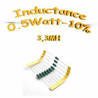 inductance 3.3MH - Inductor 3.3MH 0,5w 10%
