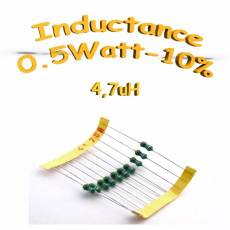 inductance 4.7uH - Inductor 4.7uH 0,5w 10%
