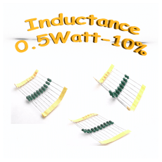 Inductances 0.5W 10%