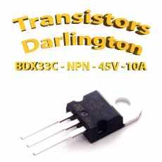 BDX33C - Transistor NPN - 100v - 10A - To220 - 70W