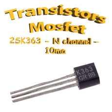 2SK363- Transistor à effet de champs - 40v - To92