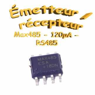 Max 485 - Émetteur / Récepteur RS485 - 120µA
