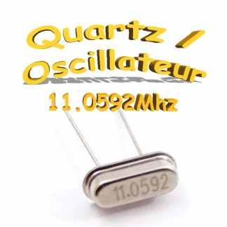 11.0592Mhz quartz hc-49s