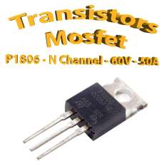 P1806 - STP1806 - N CHANNEL - 60V - 50A TO-220