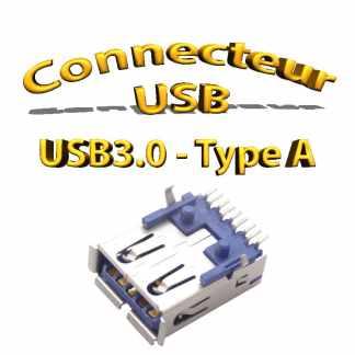Connecteur usb 3.0 wurth electronique - 9pins - femelles