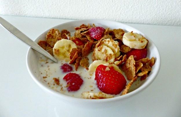 Ontbijt aardbei