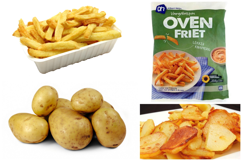 hoeveel aardappelen per persoon voor frieten