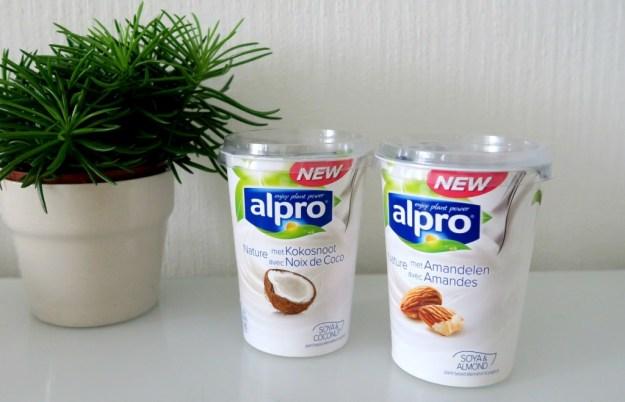 Alpro kokos en amandel