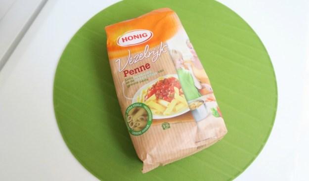 Honig vezelrijk pasta 1