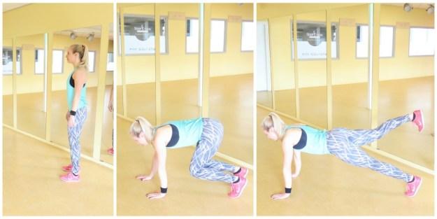 Loop plank leg lift