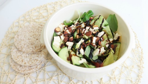 Salade feta amandel