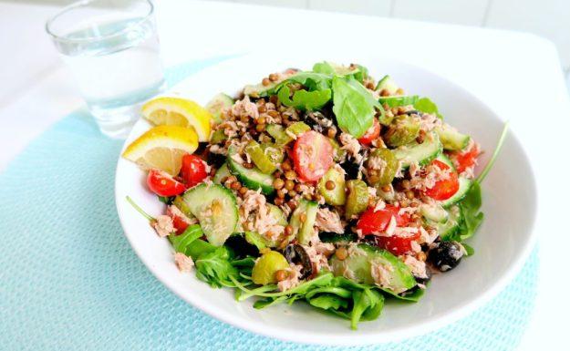 lunch-salade-tonijn-en-linzen2