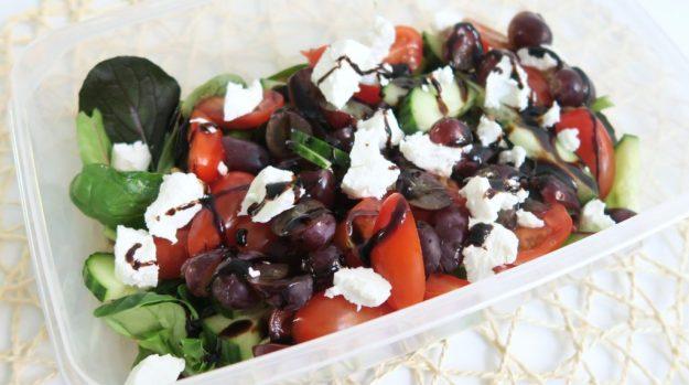 Lunch meenemen salade