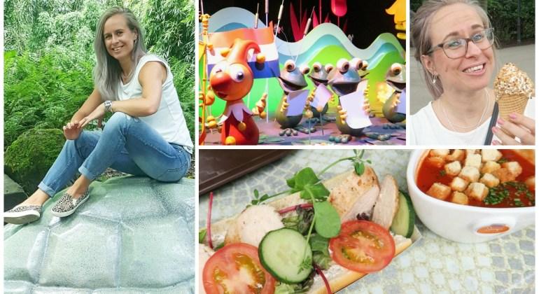 gezond eten in een pretpark