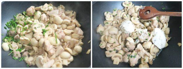 Light zuivelspread als pastasaus