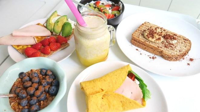 gezond ontbijtje uitgebreid